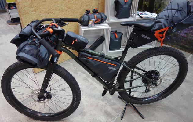 Ortlieb Bikepacking Taschen,  Beyond+ ADV