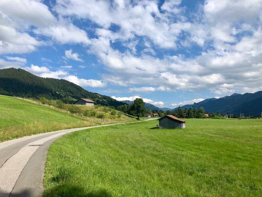 kurz vor Oberammergau