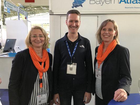 (von links) Gabriele Irrek, Clemens Müller-Reinhard, Petra Husemann-Roew