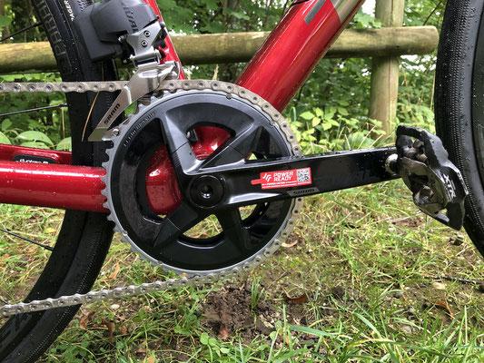 Rival 2x12-fach Kurbelgarnitur, vorbereitet für Powermeter