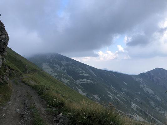 Strada dei Cannoni - das Gewitter braut sich zusammen