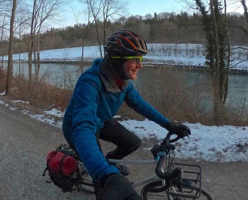 Radfahren bei Minusgraden