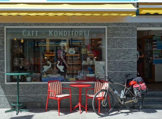 Kaffeepause in Landeck