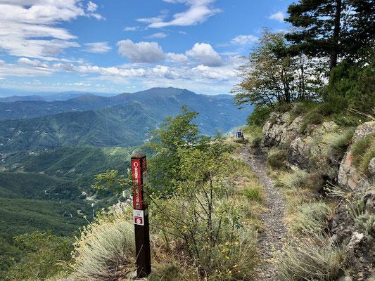 Mittlerer Wegabschnitt zum Gipfel