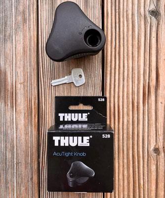 Thule AcuTight Knob mit dem Schlüsselrohling