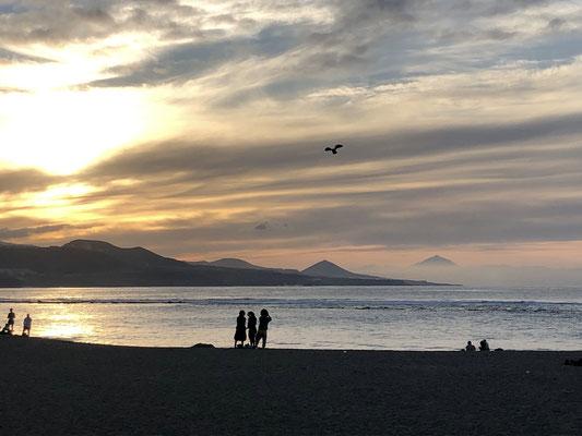 Kurz vor Sonnenuntergang: Zurück in Las Palmas