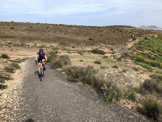 holprige Nebenstraßen Gran Canarias