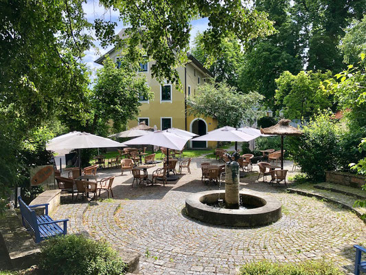 Café am Ammersee, Ammer-Amper Radweg