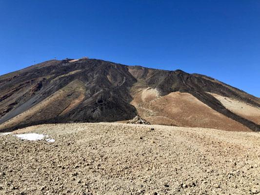 Montana Blanca (im Hintergrund der Teide)