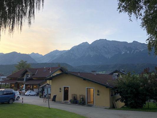 Sonnenuntergang über dem Karwendel