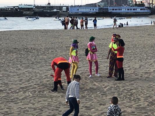 Karneval am Strand