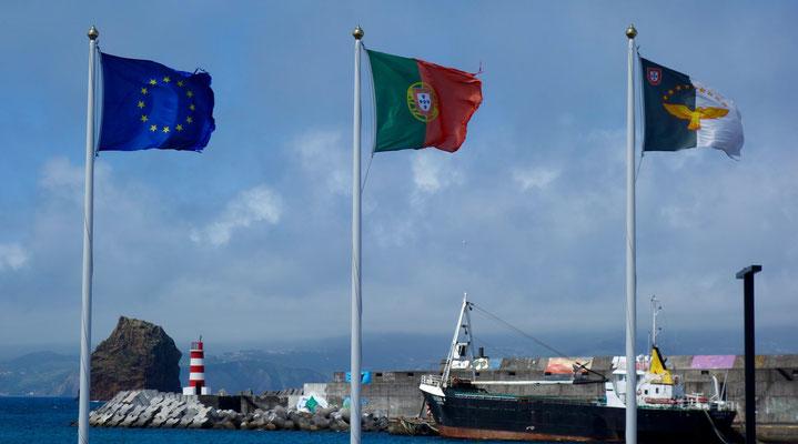 Hafen von Madalena