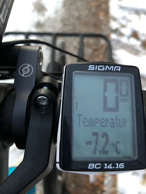 Zu kalt zum Radfahren?