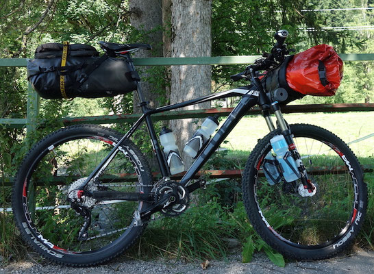 MTB, Cube Reaction, Bikepacking