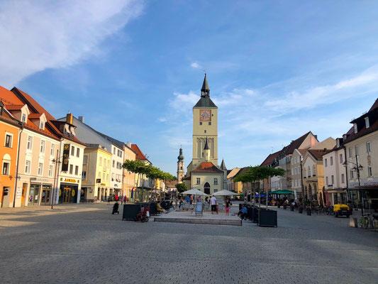 Marktplatz von Deggendorf