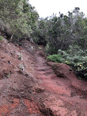 Aufstieg zur Passhöhe La Cumbrecilla