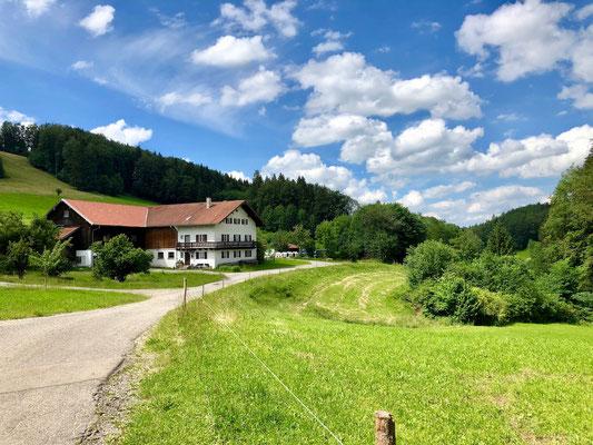 Bauernhof südlich von Peiting