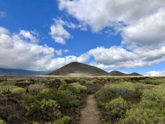 Blick zurück auf den Montana Grande