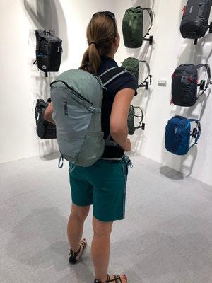 Berghuhn, OutDoor by ISPO, Radreise, Radtour, Bikepacking, Thule, Leichtrucksack Stir