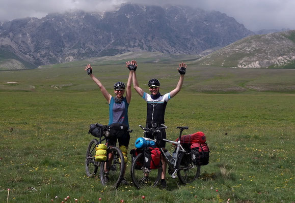 Gran Sasso Nationalpark, Italien, Bikepacking, Specialized