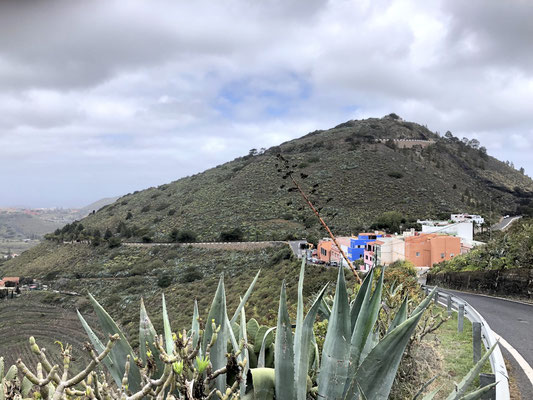 Blick zum Pico de Bandama