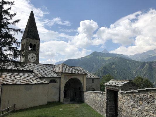 Pfarrkirche von Elva