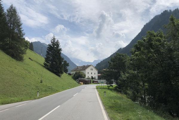 Brennerbundesstraße bei Stafflach