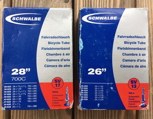 Radschlauch, Schwalbe, Bicycle Tube