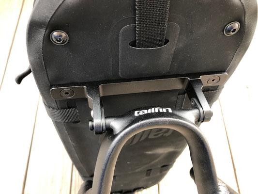 solide Verbindung zwischen Bogen und Taschenboden