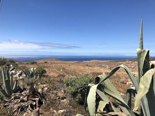 Blick Richtung Teneriffa und Teide