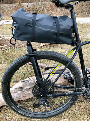 Tailfin AeroPack X mit dem serienmäßigen SeatPost Connector