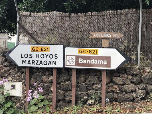 Auffahrt zum Pico de Bandama