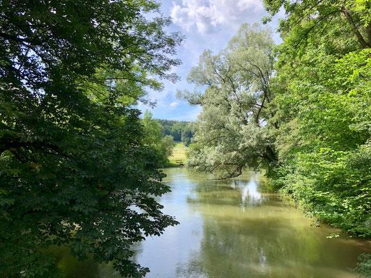 Amper südlich von Fürstenfeldbruck