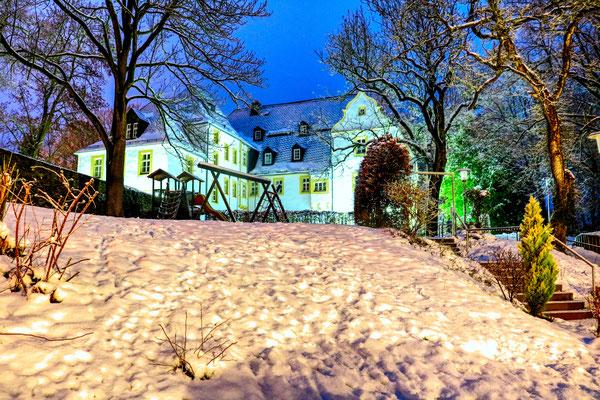 Schloss Eyba im Winter