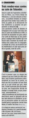 La Charente Libre du 17 décembre 2013