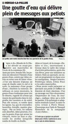La Charente Libre du 26 octobre 2016