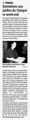 La Charente Libre du 2 juin 2016