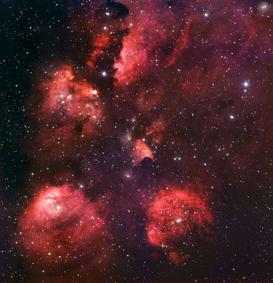 The Cat's Paw Nebula, Credit: ESO, http://www.eso.org/public/images/eso1003a/