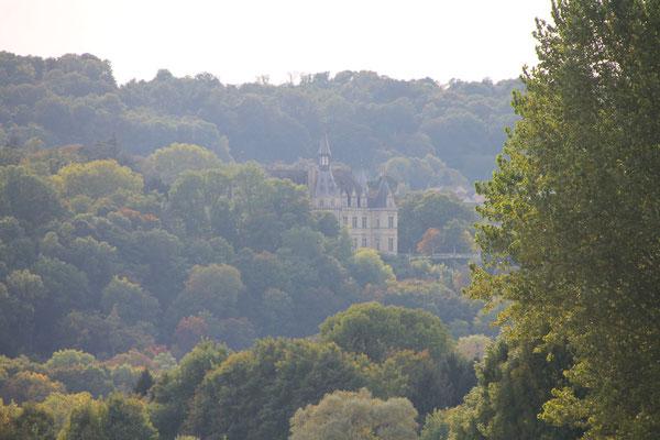 Vu du Chateau de la Veuve Cliquot