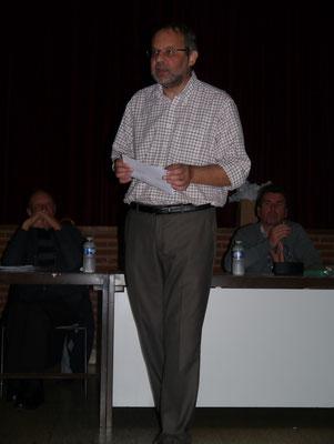 Mr Jean Marie Theis témoigne de son parcours en dialyse.