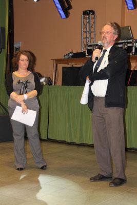 Marc Standaert, président du Lions Club Athus Lorraine qui nous soutient pour la 2ème année consécutif