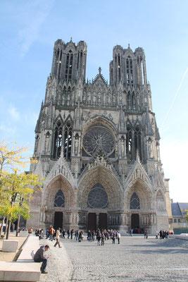 Visite de Notre dame de Reims