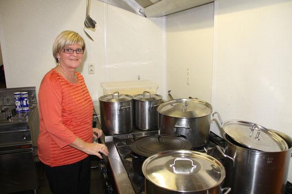 Ginette en cuisine...