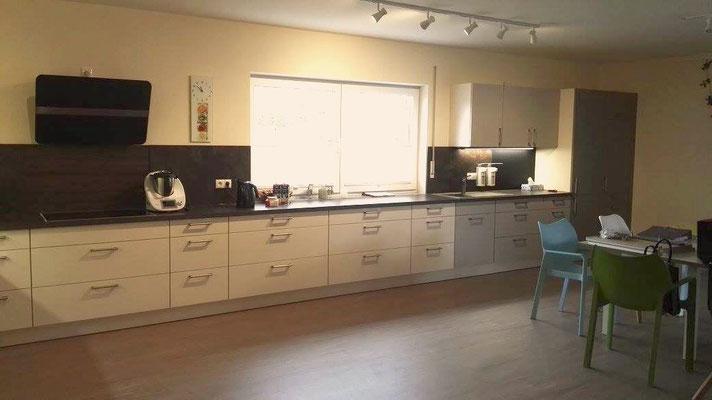 Großer Küchenbereich
