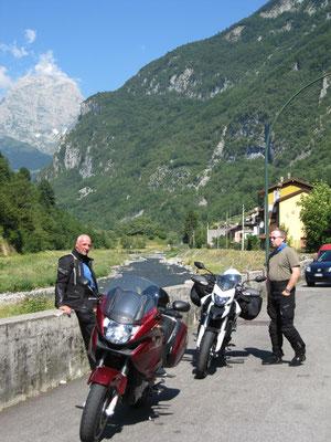 Plöckenpass, italienische Seite