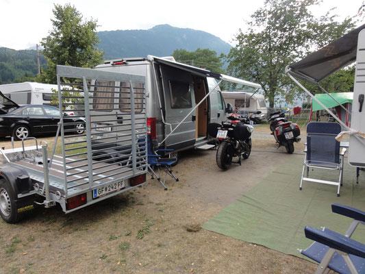 Unser erstes Basislager in Kötschach-Mauthen