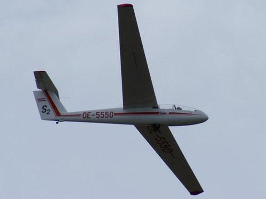 OE-5550 LET Super Blanik L-23 - Schulflugzeug meiner Freunde aus Wr. Neustadt West, mit dem ich beim Fluglehrerkurs geprüft worden bin.