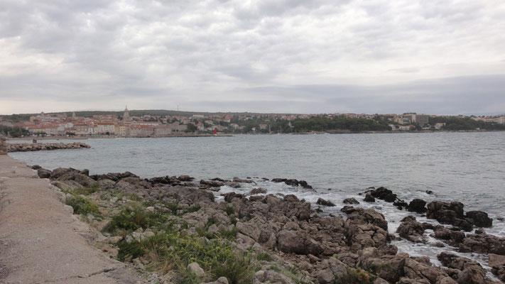 Krk, die Stadt auf der gleichnahmigen Insel