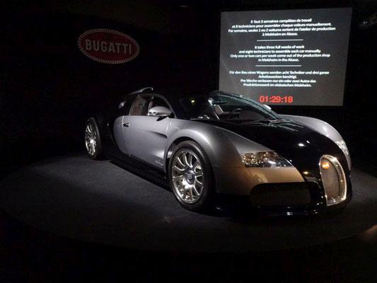 Aktueller Bugatti (aus dem VW-Konzern)