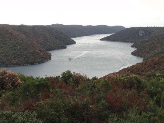 Limski Kanal, unberührte Natur